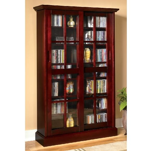Superieur Mission Craftsman Cherry Sliding Door Media Cabinet