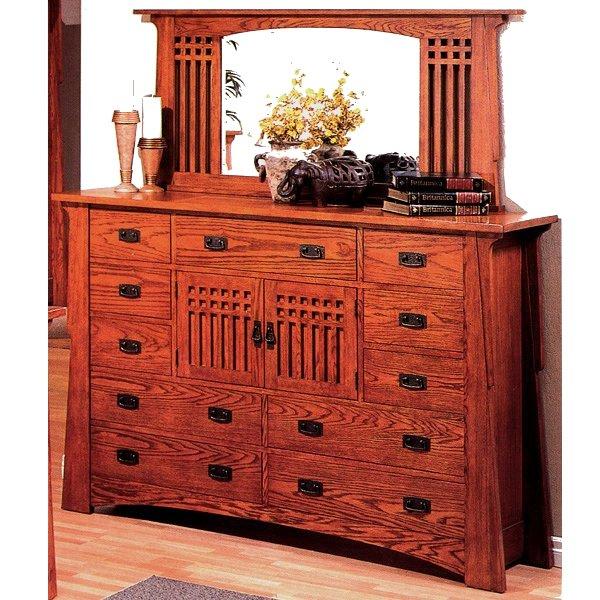 craftsman furniture. Quarter Sawn Oak Mission Craftsman Mirror Furniture