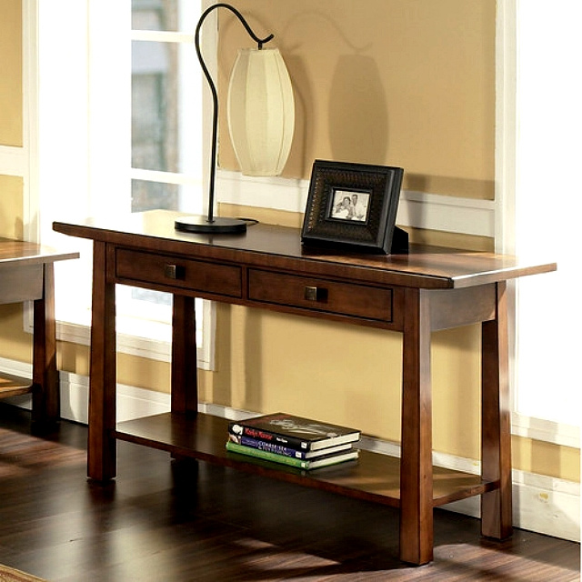 Arts And Crafts Sofa Console Table