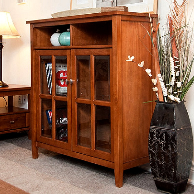 Mission Craftsman Solid Pine Buffet Cabinet