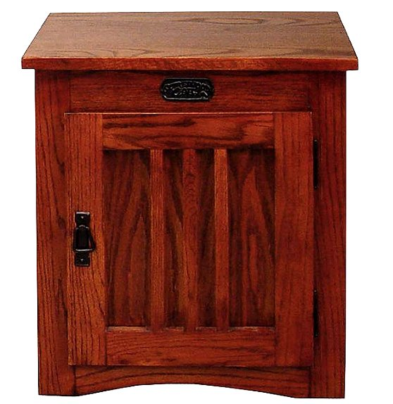 Beau Mission Craftsman Cherry Side End Table