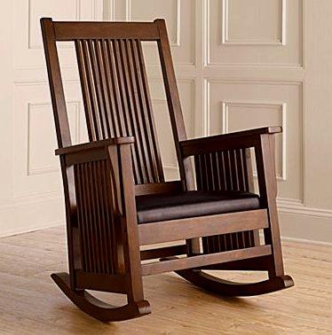 Attrayant Craftsman Mission Rocking Chair